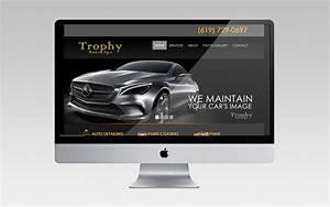 Trophy Auto Spa Branding Innovation