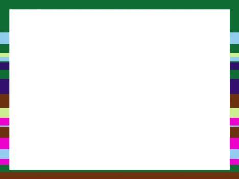 horizontal stripes powerpoint template