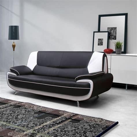canapé cuir blanc conforama canape simili cuir noir et blanc conforama canapé