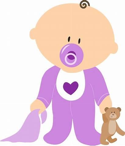Clipart Pacifier Purple Boy Clip Svg Sign