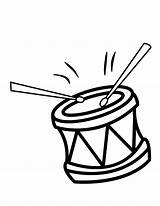 Drums Coloring Drum Pages Clip Colouring Clipart Percussion Cliparts Printable Music Template Library Unique Templates Favorites sketch template