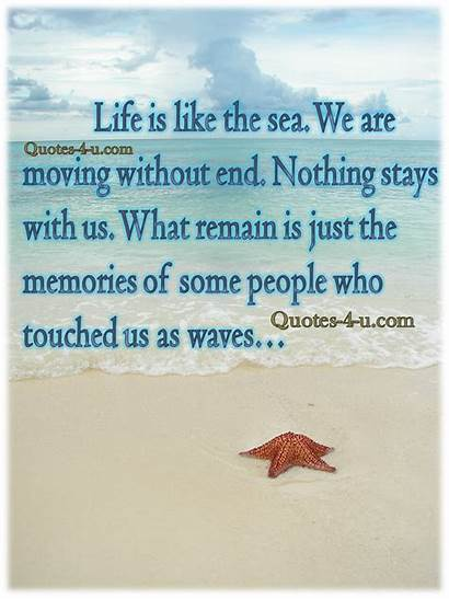 Sea Quotes Waves Quote End Without Moving