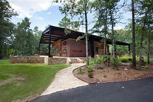 pole barn house plans Exterior Rustic with steel canopy grove