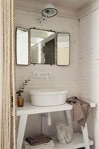 76 idees avec un miroir grand format archzinefr With miroir salle de bain grand format
