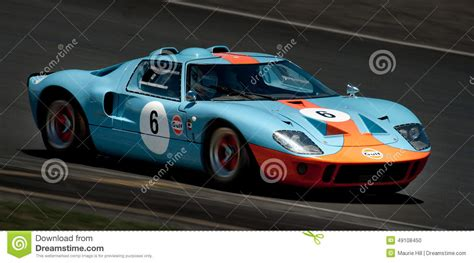 gt ford racing car editorial image image  mans