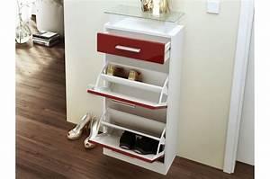 Meuble Bébé Pas Cher : meuble chaussures design pas cher bluebell cbc meubles ~ Teatrodelosmanantiales.com Idées de Décoration