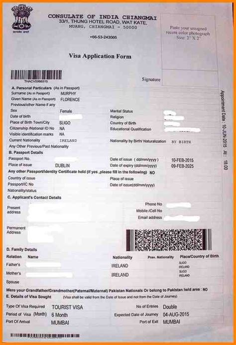 10 indian embassy visa application form agile resume