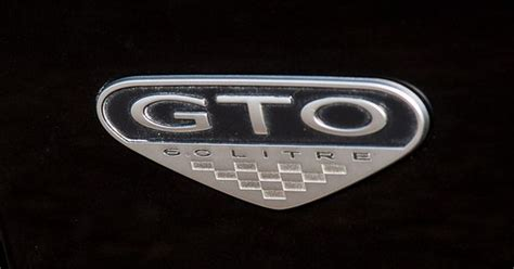 pontiac gto side emblem cars pinterest pontiac gto