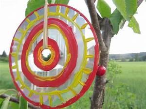 Mit Cds Basteln : vogelschreck aus alter cd bird shocker made of old cd upcycling basteln mit cds ~ Frokenaadalensverden.com Haus und Dekorationen