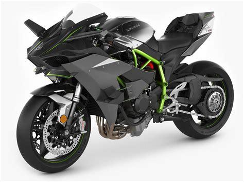 Kawasaki Image by 3d Kawasaki H2r Cgtrader