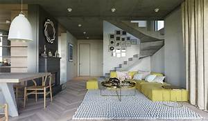 25 gorgeous yellow accent living rooms With idee deco interieur appartement