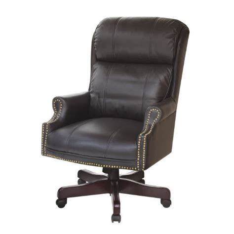 regency seating barrington judge s chair with soft black