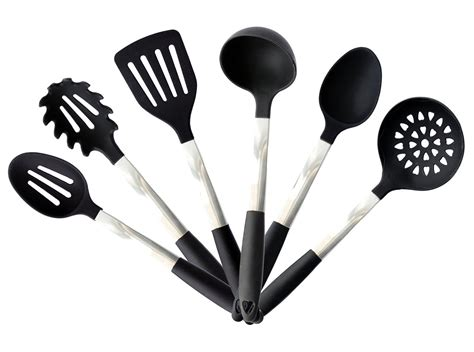 kitchen utensil silicone cooking tools utensils stand stainless sets steel cookware gadgets giveaway rv covers code discount includes pieces quality