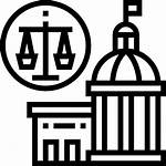 Court Icon Icons Justice Security