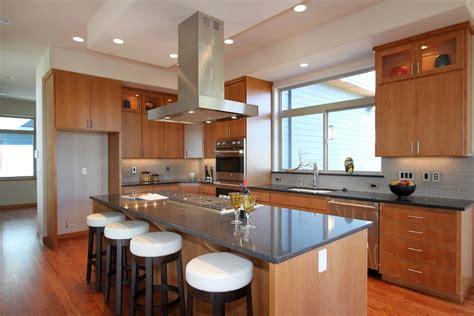cuisine cuisine moderne bois avec blanc couleur cuisine moderne bois idees de couleur