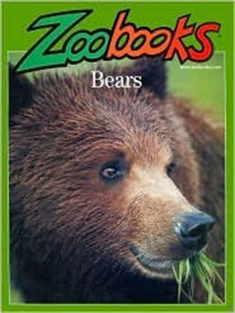 bears zoobooks  john bonnett wexo