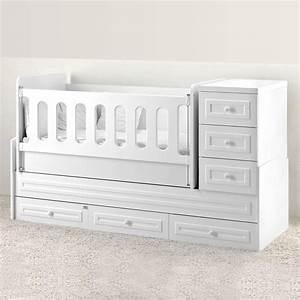 Baby Wiege Bett : mitwachsendes babybett elite inkl wiege wickelkommode ~ Michelbontemps.com Haus und Dekorationen