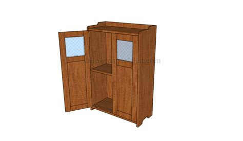pantry cabinet plans howtospecialist   build step  step diy plans