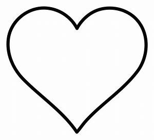 Clipart - Heart outline