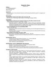 previous work history resume previous working experience on resume exles resume template exle