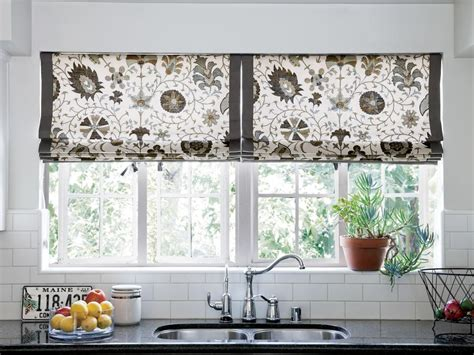 10 Stylish Kitchen Window Treatment Ideas Black N Silver Curtains For A Gray Room Chris Madden Mystique Jungle Animal Extra Long Shower Curtain Length Bedroom Blinds And Sheer Kids Grey White Target
