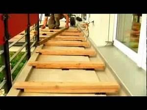 Holz Für Balkonboden : bauanleitung holzterrasse in berlin by holz service youtube ~ Markanthonyermac.com Haus und Dekorationen