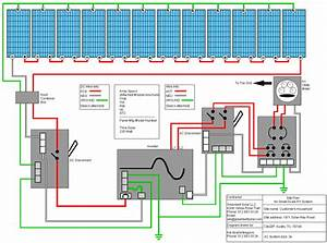 Garden Solar Panel Wiring Diagram