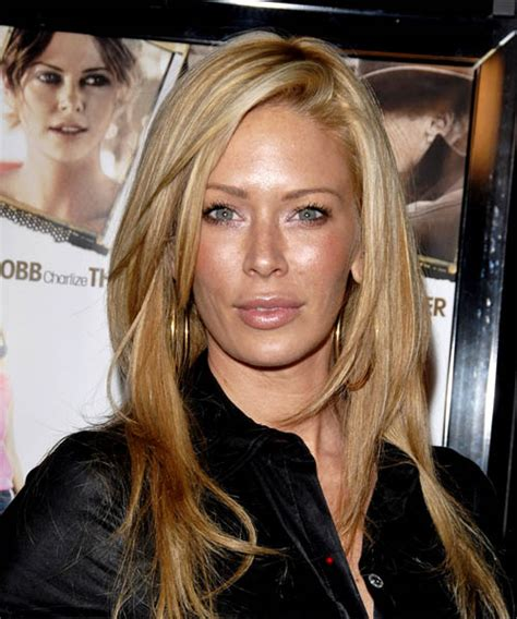 Jenna Jameson Long Straight Casual Hairstyle