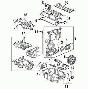 Honda Civic Engine Parts Diagram