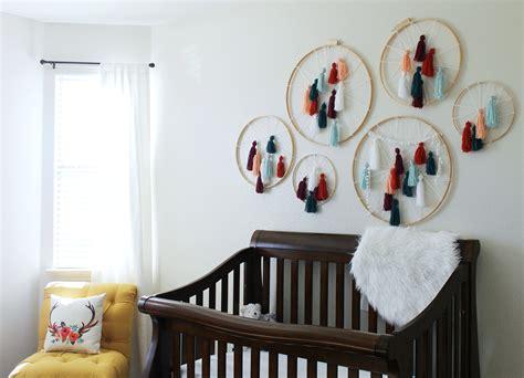Diy Tassel Dreamcatcher Yarn Wall Art Tutorial