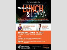 Technology Lunch & Learn ITSMF