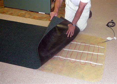 heated floor mat martinson nicholls new recessed well matting system