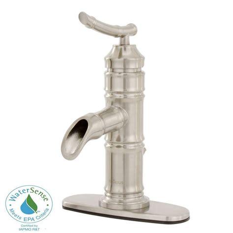 weymouth  handle wall mount bathroom faucet trim kit