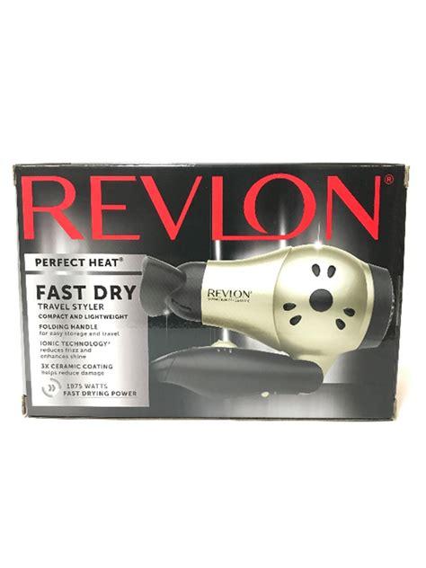 Catokan Revlon Ion revlon travel ion select 1875 watt hair dryer