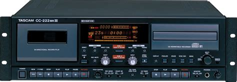 cd cassette recorder tascam cc222mkiii cd recorder and cassette combo zzounds