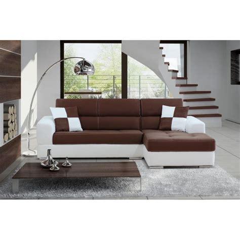 canape madrid canapé d 39 angle madrid ii pu et microfibre ch achat