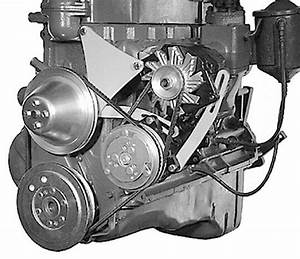 Alan Grove Chevy 235 6 Cylinder Ac Air Comp  U0026 Alternator