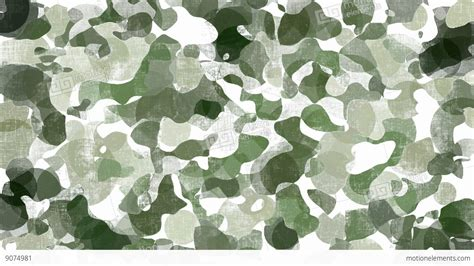 Camo Background Animated Green Camouflage Background Stock Animation 9074981
