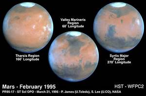 Mars at Opposition 1995 | ESA/Hubble