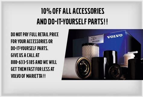 volvo parts specials atlanta area volvo cars  marietta
