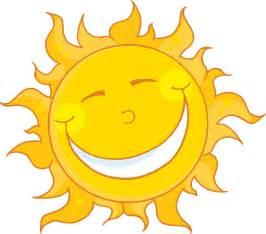smiling sun clipart image 9586