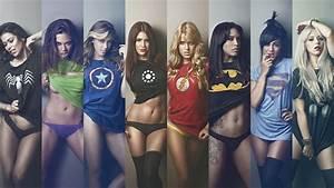 Female, Superhero, Wallpaper, 72, Images