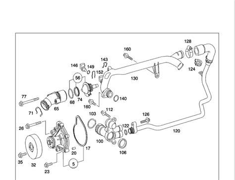 2005 Mercede Engine Diagram by 2003 C230k M271 Coolant Leak At Back Of Engine Mbworld