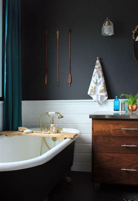 amanda s quot dramatic slate quot bathroom room for color