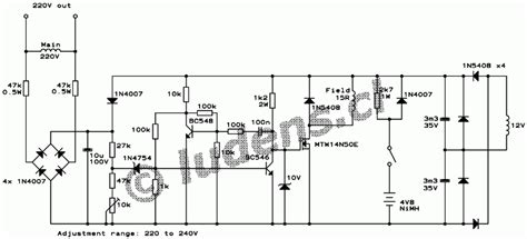 voltage regulator for synchronous generator