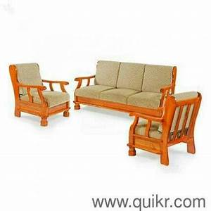 premium quality solid wooden sofa set emi facility brand With home furniture in emi