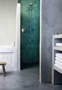 Beton decoratif leroy merlin maison design bahbecom for Salle de bain design avec fil métallique décoratif