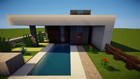 Minecraft Modernes Kleines Haus Bauen Tutorial [german