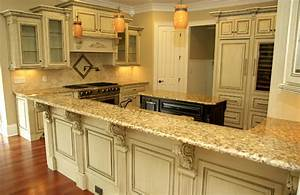 Antique Glazed Cabinetry - Traditional - Kitchen - other