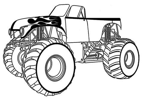 ausmalbilder monster truck  ausmalbilder malvorlagen